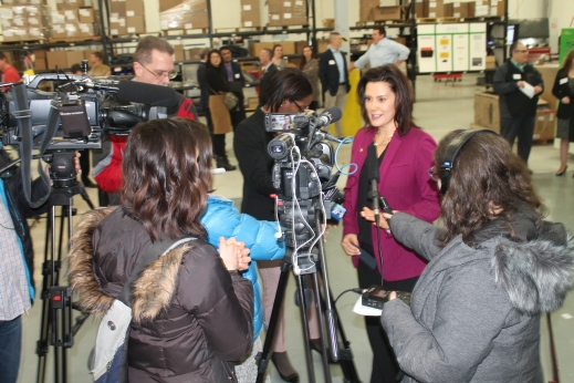 Whitmer at Tentcraft_media scrum_2019