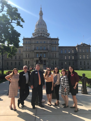 2019 Lobby Day Capitol group